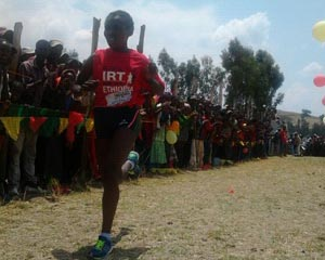 �In Real Time-Run With Ethiopia�, kil�metros solidarios