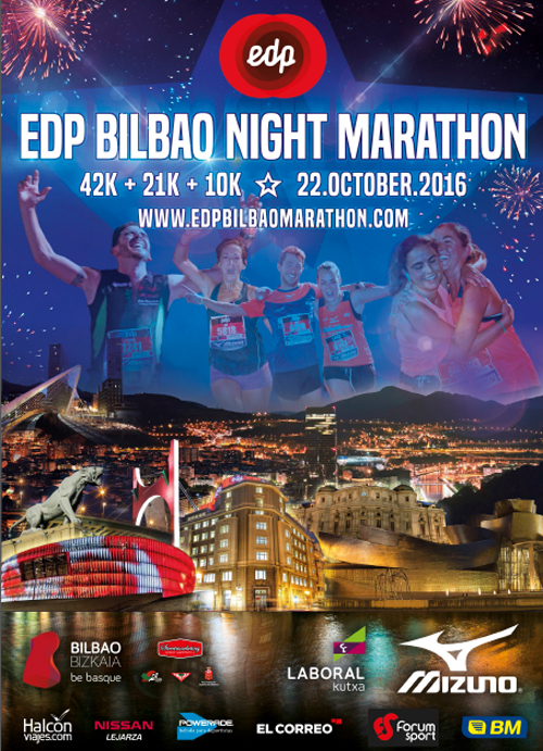 Bilbao Night Marathon 2016