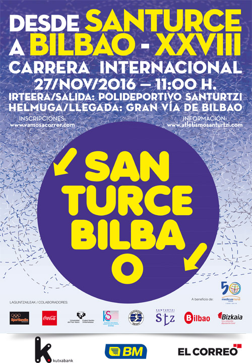 Santurce Bilbao 2016 Carrera Popular